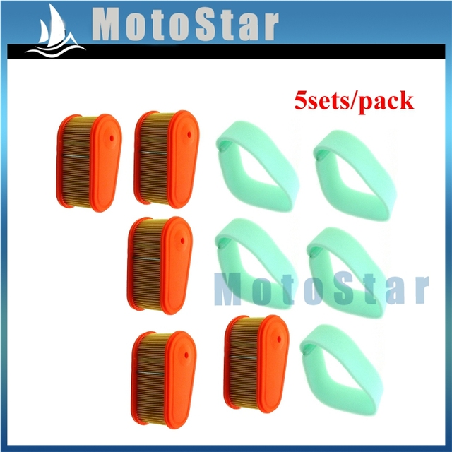 Air Filter For Briggs & Stratton 5419 795066 796254 Craftsman 33084 111P02