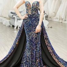 Винтажные вечерние платья, длинное платье, Abendkleider, сексуальное платье с высоким разрезом без спинки, платье для выпускного вечера, вечерние платья трапециевидной формы