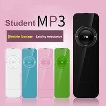 5 cores portátil usb mini mp3 player de música suporte micr-o sd tf cartão de aprendizagem esportes alto-falante esporte música walkman em estoque