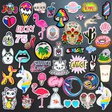 Любовь 75 мгновенной цветовой гаммы детской одежды для глажки одежды, швейные принадлежности, Декоративные Значки, птица, кошка