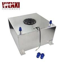 40L Aluminium Fuel Surge Tank With Cap Fuel Cell With Sensor Foam Inside WX-TK40