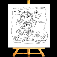 ZhuoAng Mermaid Clear Stamps/Card Making Holiday decorations For  scrapbooking Transparent stamps 13*13cm
