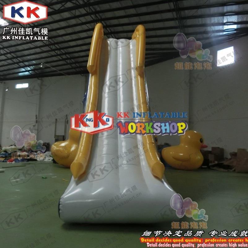 KK Factory Inflatable Dock Slide/ boat use Inflatable slide/ yacht water slide for sale - 3