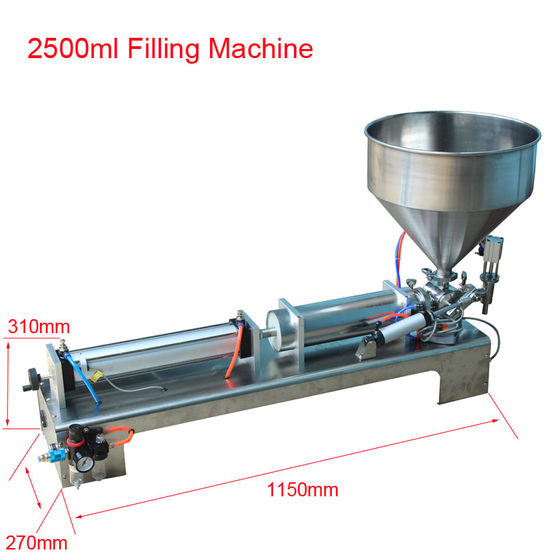 SHENLIN 2500ml piston filling ...