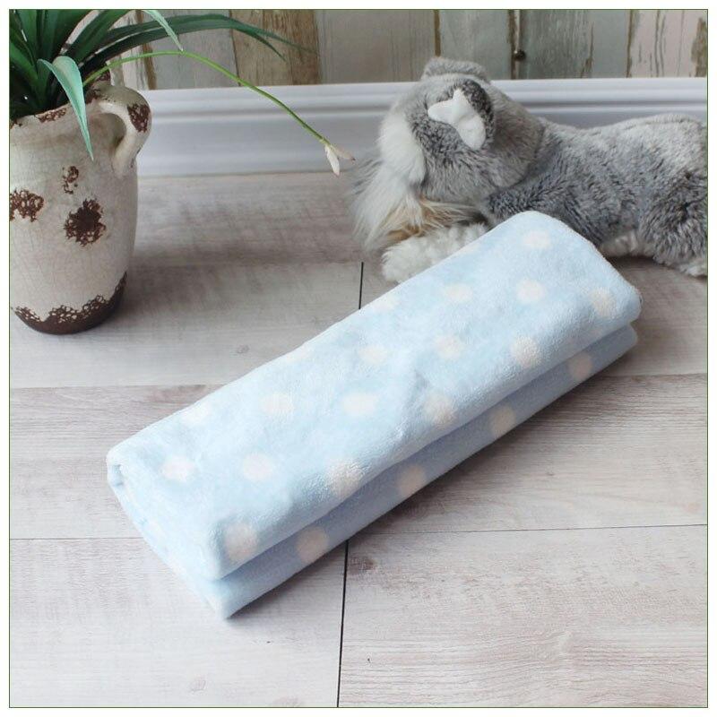 Soft Pet Blanket Warm Dog Cat Mat Fleece Pet Puppy Blanket Towel Small Medium Large Dogs Cats Sleeping Sofa Cover Pet Supplies 7