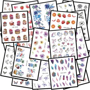 25style Flower DIY Nail Art Silicone Nail Stamper Scraper Set Nail Art Stamp For Stamping Polish Print Manicure Image Plate Tool