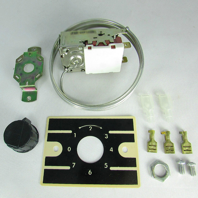Refrigeration Thermostat Temperature Control Kit For Freezer Cabinet Durable Top image