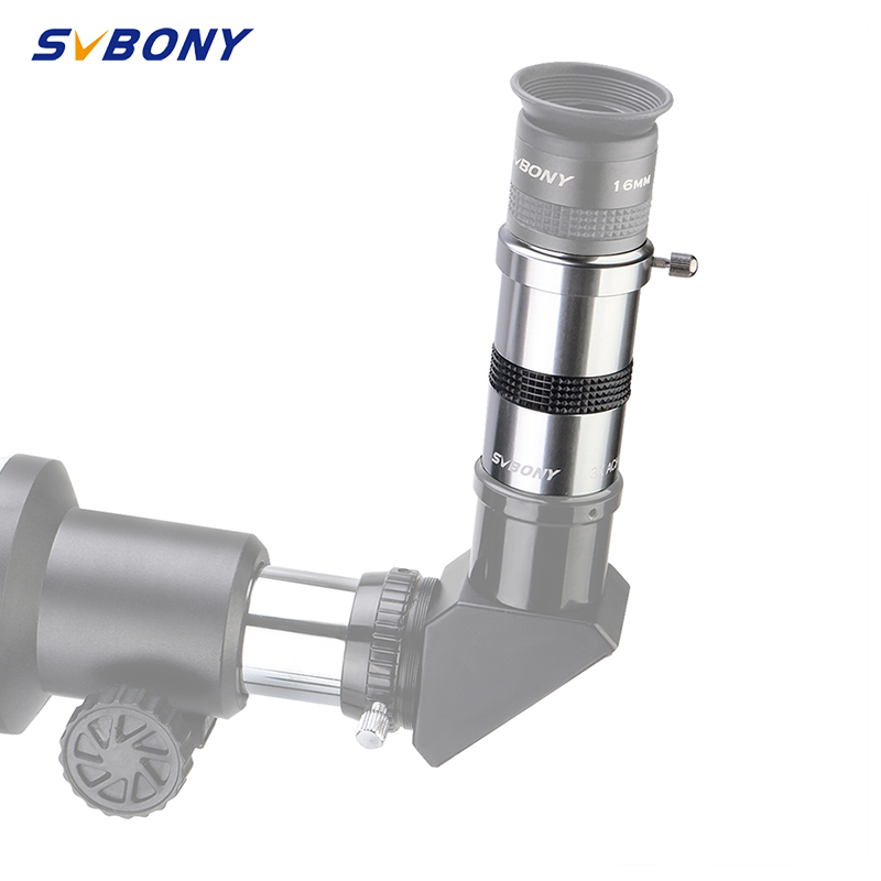 SVBONY SV137 1.25'' Omni 3X Barlow Eyepiece By Magnification Eyepiece Professional Telescope Barlow Parts Astronomical Eyepiece