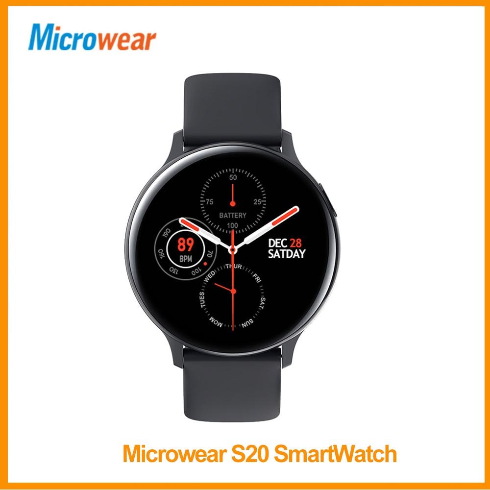 Смарт часы Microwear S20, 1,4 дюйма, полный сенсорный экран, IP68, водонепроницаемые, напоминания, мульти спорт, Bluetooth, Android/IOS, L13 Смарт-часы      АлиЭкспресс
