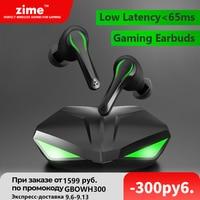 Auricolari da gioco Zime Winner 65ms auricolare Bluetooth TWS a bassa latenza con microfono Bass Audio posizionamento Audio cuffie Wireless PUBG