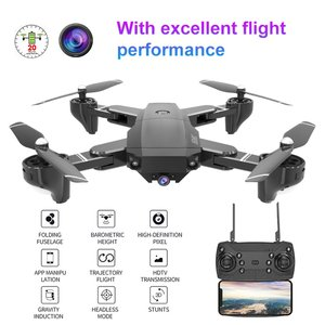 H13 Foldable Drone with HD Camera Four Axis Folding Aerial Drone 500W Wide Angle WiFi FPV Optical Flow RC Drone Helicopter|Camera Drones|Consumer Electronics -