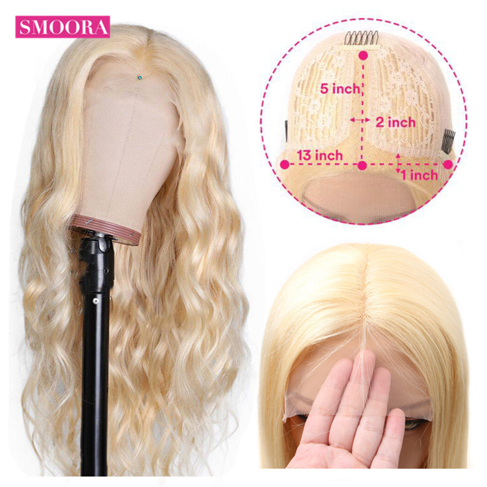 13x1 Middle Part Body Wave Wig