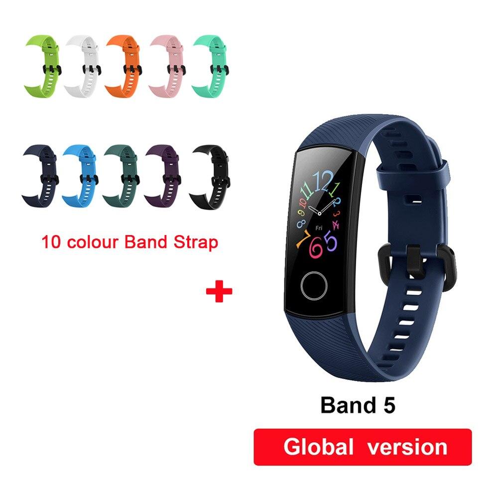 blue band5 10 Strap