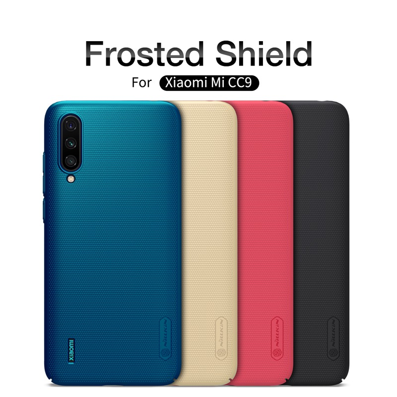 for Xiaomi Mi 9 Lite case armor cover, Nillkin shockproof case for Xiaomi Mi 9 lite mobile phone frosted shield hard plastic