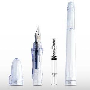 Image 2 - 1 Pcs Pilot Cali Chaise Pen FP 60R EF/F/M Sharp Transparent Pen Strokes Dedicated Pen 0.3mm/0.38mm/0.5mm Painting Sketch