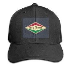 Big Sur Californie-Big Sur Californie Grande Taille Personnalisé Personnalité Famille Chapeau