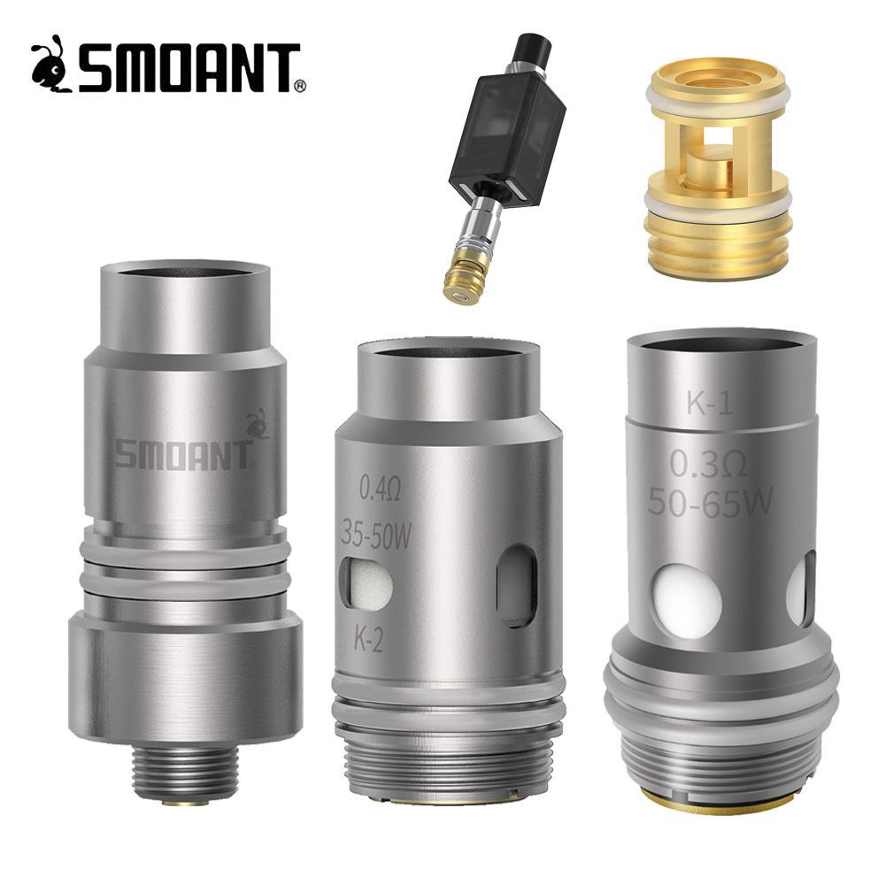 Smoant Knight 80 0.3 Ohm 0.4 Ohm Coil Base Cartridge RBA Smoant Kight 80 Vape Pod E Cigarette Accessoies