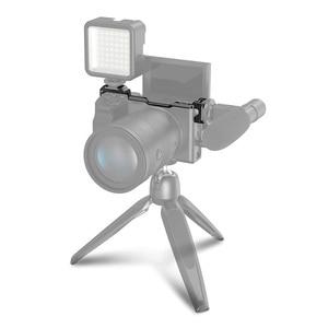 Image 2 - รองเท้าเย็น Adapter Relocation แผ่นอลูมิเนียมกล้อง Vlogging Mount สำหรับ Sony A6300/A6400