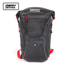 Osah мотоцикл Открытый водонепроницаемый рюкзак для мужчин светильник