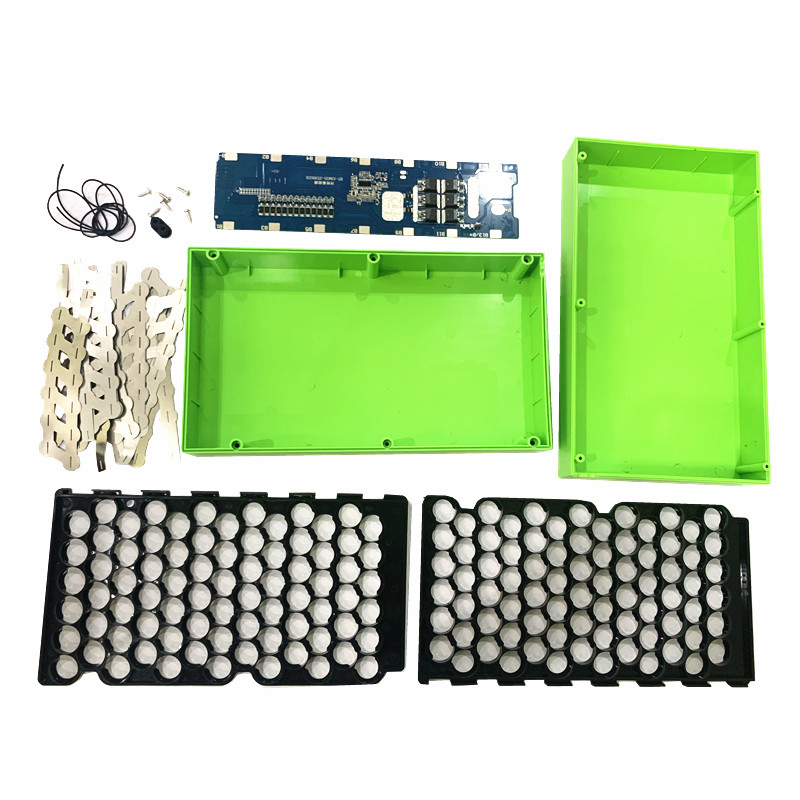 Spot welding board 13S 15A 20A bms holder box 48v 18650 lithium battery balanced protection board for Power electric vehicle