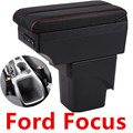Для Ford Focus 2 Mk2 подлокотник коробка центральный магазин содержимое коробка с USB интерфейсом