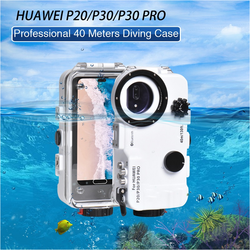 Waterproof Phone case for HuaWei P20 P30 P30PRO Diving Mobile Phone Bag Underwater 40M Cell Phone Protective Cover Shell 1pc