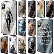 Throne Of Glass Tempered Glass Phone Cover Case for