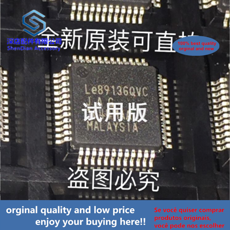 1pcs 100% Orginal And New LE89136QVC QFP48 Best Qualtiy