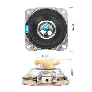 Image 2 - Aiyima 2 Stuks 2.75 Inch Audio Speaker 4Ohm 15W Uplifting Hoek Neodymium Magnetische Full Range Speaker Diy