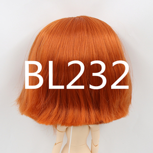 Image 5 - blyth doll icy doll rbl scalp and dome short hair wig toy accessory for DIY custom doll