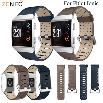 ====Watch band For Fitbit ionic leather sport watch bands wristband Replacement high quality smart watch strap For Fitbit ionic band for fitbit ionic soft silicone replacement sport band strap for fitbit ionic smart fitness watch band sport high quality