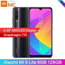 """В наличии Xiaomi Mi 9 Lite Восьмиядерный мобильный телефон Snapdragon710 с глобальной версией 6 ГБ 128 ГБ 6,39 """"AMOLED 48MP камера Аккумулятор 4030 мАч"""