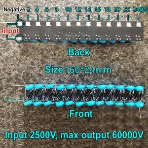 Image 4 - Spannung Doubler Behebung 24 Mal Gleichrichter 60000V Hohe Spannung Multiplier