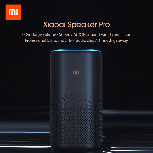Original Xiaomi Xiaoai Bluetooth Speaker Pro AI Bluetooth 4.2 Mesh Gateway Surround Sound Smart Remote Control With Mijia APP