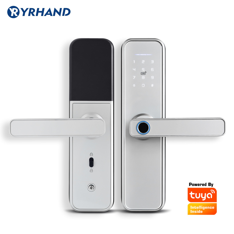 Ultimate SaleFingerprint-Lock Door-Lock Biometric Tuya Wifi RFID Password Intelligent Security Waterproof
