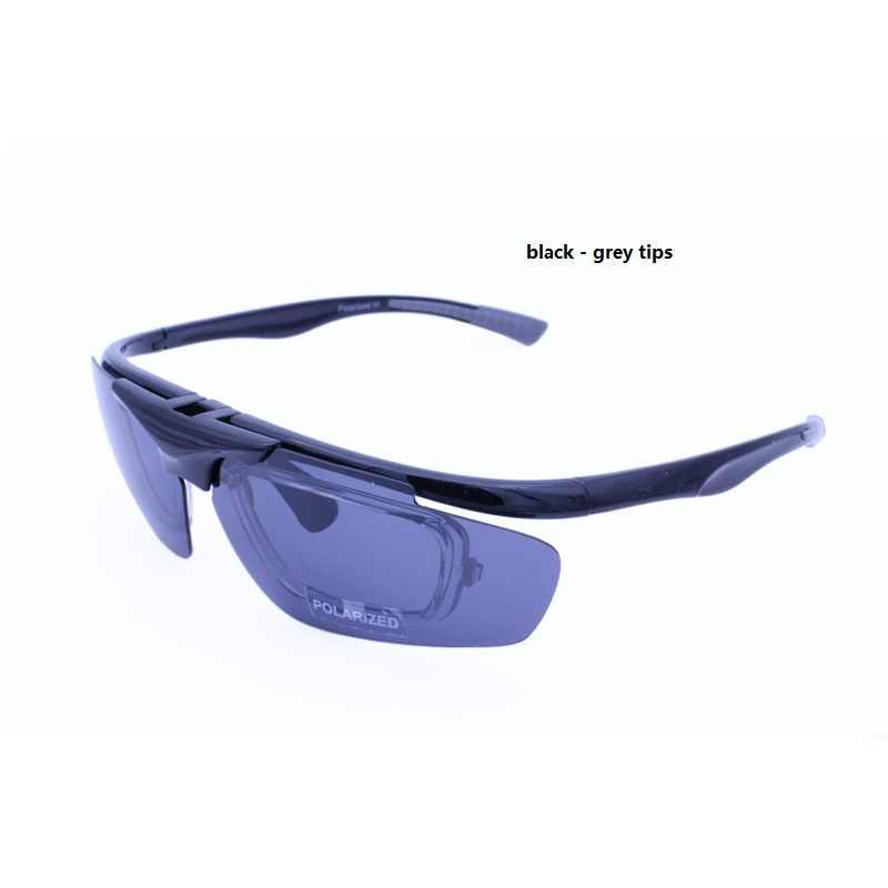 Hotsales 6012 Chất Lượng Cao Lật Lên UV400 Phân Cực Phong Cách Mới Chống Trơn Trượt Ngoài Trời Đơn Thuốc Kính Mát