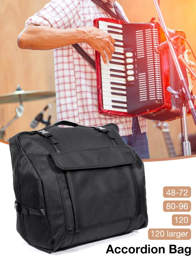 Accordion Gig Bag Accordion Storage Bag For 48/60/72/80/96/120 Bass Piano Accordions Protective Bag Musicial Instrument /FFY/
