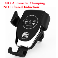 Add 2 Smart Sensor Automatic Clamping Wireless Car Charger Mount at 10% OFF