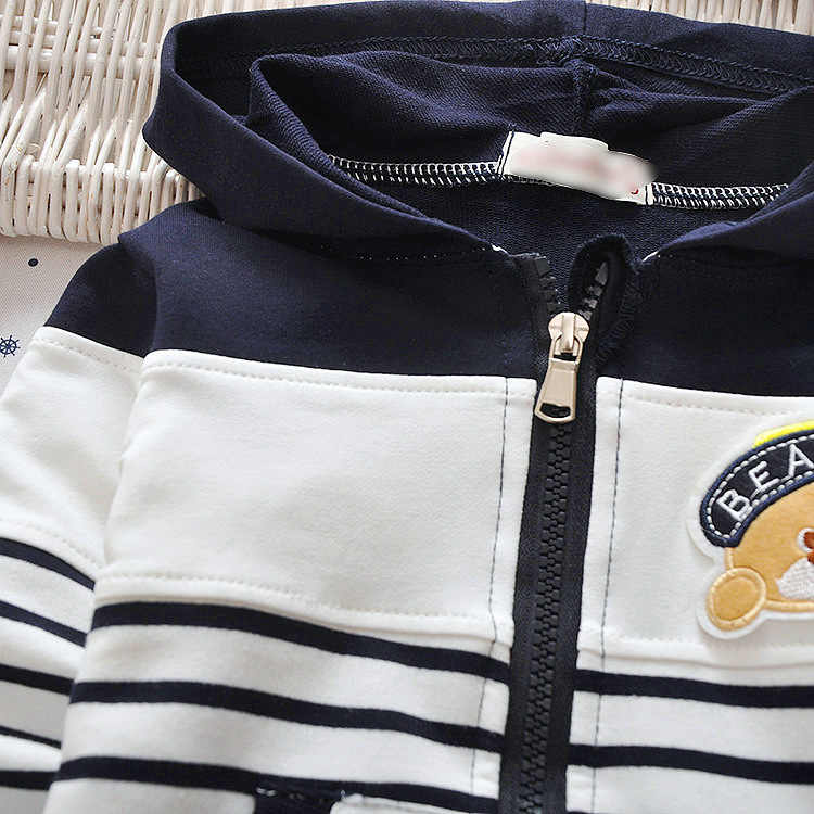 IENENS אביב ילדים ילדי בנות בני פסים מעילי מעילי תינוק ילד ילדה כותנה מזדמן דק הלבשה עליונה נים חולצות בגדים