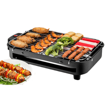 цена на Household Electric Barbecue Machine Multifunctional BBQ Furnace Electric Grill Smokeless BBQ Grill