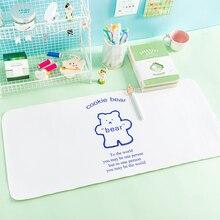 Table-Mat Desktop Kawaii-Supplies Cute Writing-Pad Waterproof Girl Ins Photo-Background-Pad