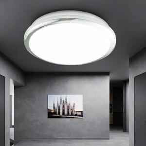 Image 1 - Zerouno lámpara de techo para dormitorio interior, lámpara de baño de 18W, 30W, 32W, iluminación LED moderna de alto brillo para cocina, lámpara para techo impermeable