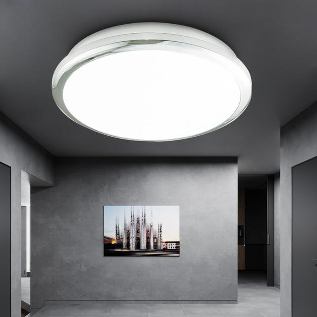 Zerouno lámpara de techo para dormitorio interior, lámpara de baño de 18W, 30W, 32W, iluminación LED moderna de alto brillo para cocina, lámpara para techo impermeable