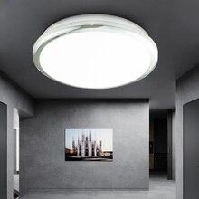 Zerouno plafonnier imperméable, design moderne, éclairage de plafond, éclairage dintérieur, éclairage de plafond, idéal pour une chambre à coucher, une cuisine, 18/30/32W, LED