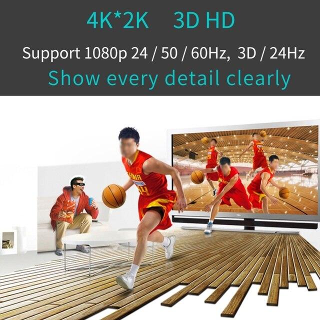 Hdmi a 4k hdmi spdif 3.5mm conversor de vídeo de áudio extrator divisor adaptador