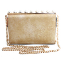 New Style Crossbody Bags For Women 2019 Chain Shoulder Bag Pearl Messenger Womens Handbags and Purses Evening Clutch
