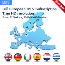 IUDTVPro IPTV Sweden Spain Germany Italy Greek 1 Year Turkey Portugal IP TV Code