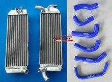 Chłodnica w pełni aluminiowa i wąż silikonowy do Honda XR650 XR650R XR 650R 650 2000-2007