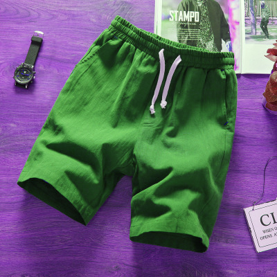 Fashion men short pants cotton shorts Calf-Length Fitness Casual workout sporting short pants Summer Sportswear short