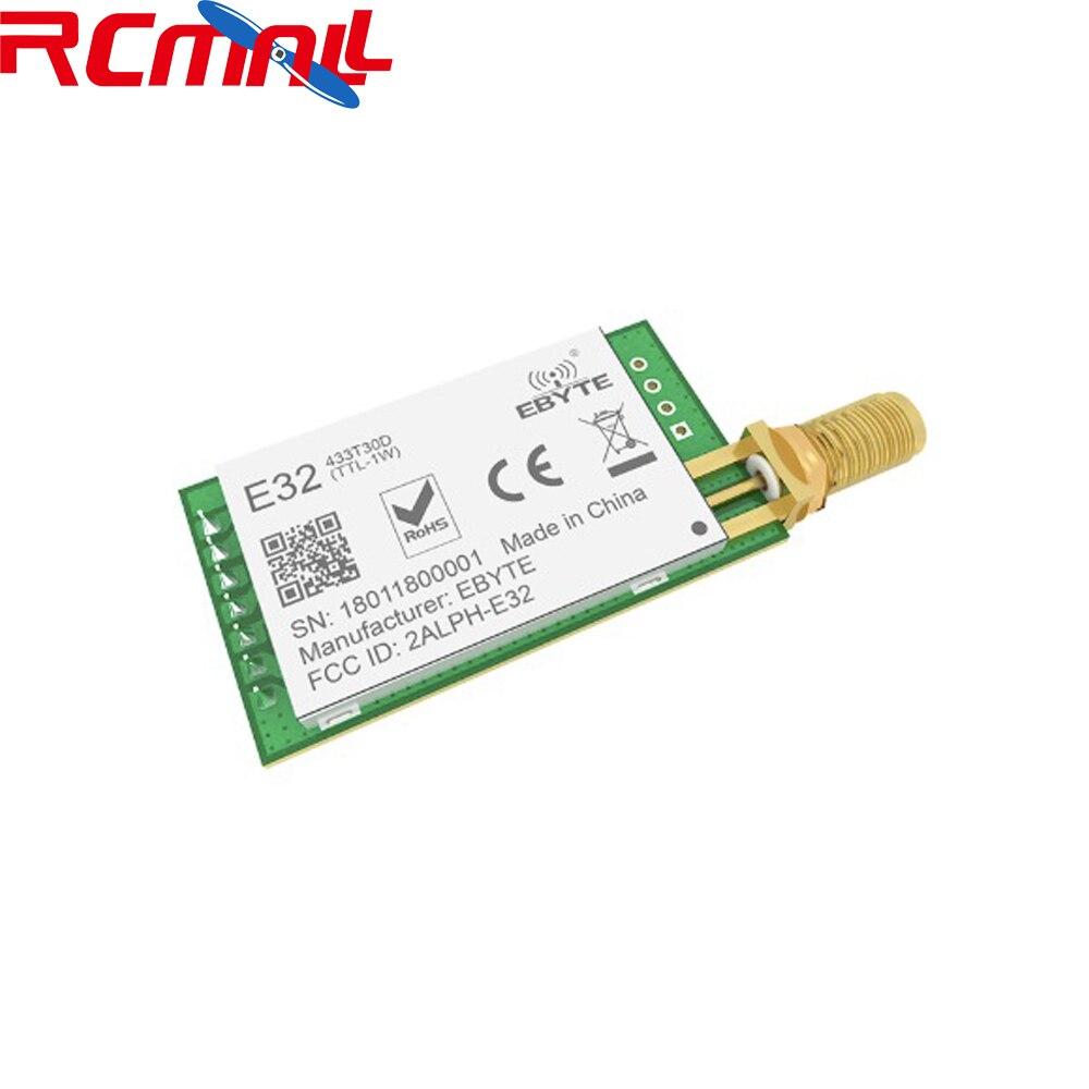 433MHz LoRa SX1278 RF Transmitter Receiver Wireless Module UART Long Range Transceiver 100mW 20dBm 3km E32(433T30D)